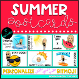 Summer Postcards to Send to Students