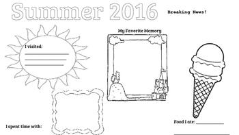 "Summer Poster, ""Breaking News!"""