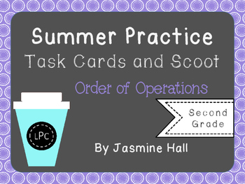 Summer Practice Order of Operations