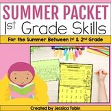 Summer Packet First Grade - Digital Summer Practice With Google Slides