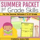Summer Packet: 1st Grade Summer Review Packet