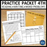 Summer Practice Packet 4th Grade Review