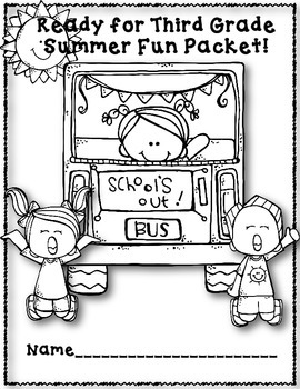 Summer Practice Packet for 2nd Grade ELA and Math Common Core Aligned