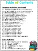 Summer Practice Pages for Bilingual Kindergarten - Print and Learn - Summer
