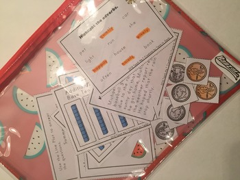 Summer Prep for Students Entering 2nd Grade~ Task Cards~