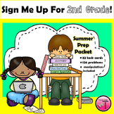 Summer Prep for Students Entering 2nd Grade| Task Cards