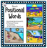Summer Preposition Activities - Positional Words