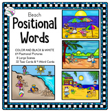 Preposition Activities (Positional Words) Beach