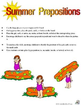 Summer Prepositions