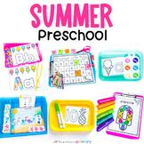 Summer Preschool Math & Literacy Pack