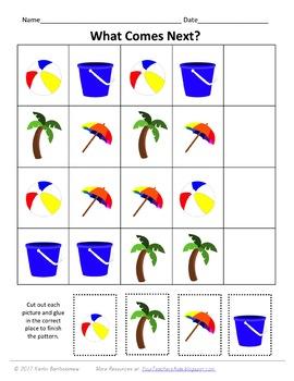 Summer Preschool Pack- 48 PAGES!
