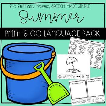Summer Print and Go Language Pack