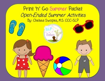 Summer Print 'n' Go Packet