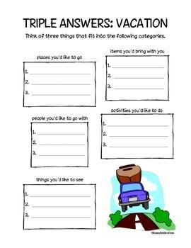 Summer Printable Activities Fun Pack