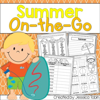 Summer Printable Worksheets