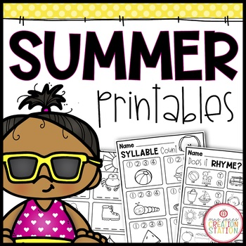 Summer Printables Freebie