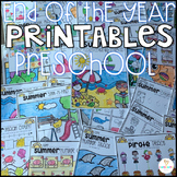 Summer Printables Getting Ready for Kindergarten (Bundle)