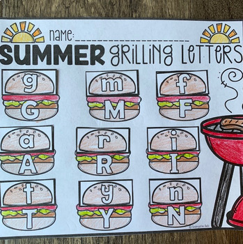 Freebie ** Summer Printables Getting Ready for Kindergarten