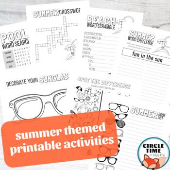 Summer Library Activities