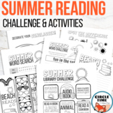 Summer Printables & Library Reading Challenge