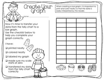 Summer Probability/Graphing Activity: Hands-On Math for 2nd/3rd Grade