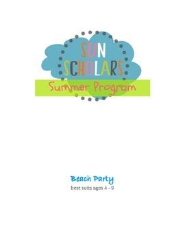Summer Program - Beach Party (Week 6)
