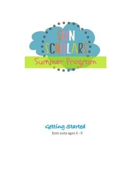 Summer Program - Getting Started (Week 1)
