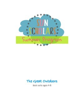Summer Program - Great Outdoors (Week 5)