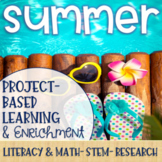 Summer Project-Based Learning & Enrichment for Literacy, Math, STEM and Research