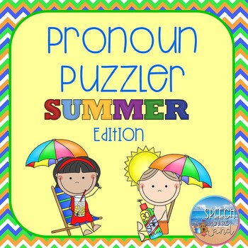 Summer Pronoun Puzzler *DOLLAR DEAL*