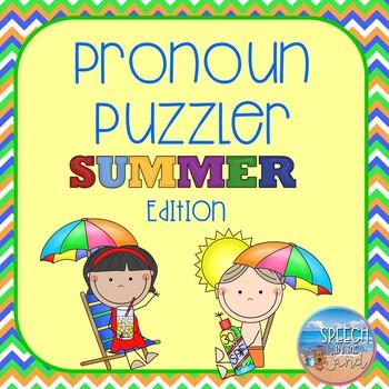 Summer Pronoun Puzzler