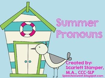 Summer Pronouns
