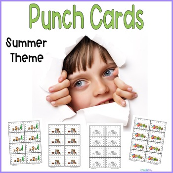 Reward Punch Cards Summer
