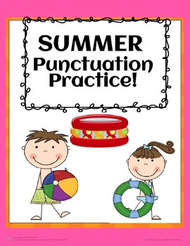 Summer Punctuation Practice