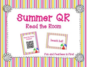 Summer QR Code - Read the Room