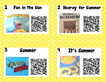 Summer QR Codes