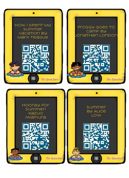 Summer Vacation QR Listening Center