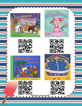 Summer QR Read-Alouds (Listening Center)
