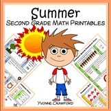 Summer Review No Prep Common Core Math (2nd grade)