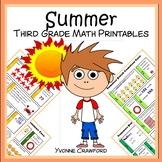 Summer Review No Prep Common Core Math (3rd grade)