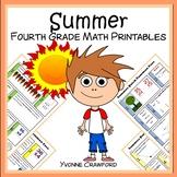 Summer Review No Prep Common Core Math (4th grade)