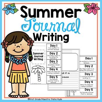 Summer  Quick Writes Writing Journal