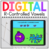 Summer R-Controlled Vowels Digital Activity | Distance Learning