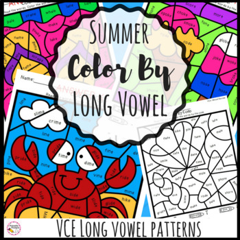 Summer Color By Code-VCe
