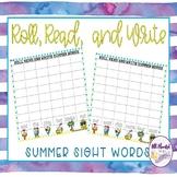 Summer Read, Roll, & Write Sight Words