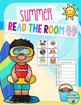 Summer Read the Room Freebie