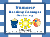 Summer Reading Comprehension Passages Grades 2-3