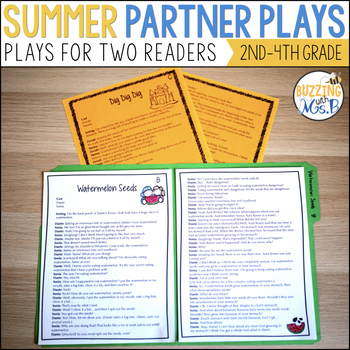 Summer Reader's Theater Scripts: Partner Plays for Two Readers