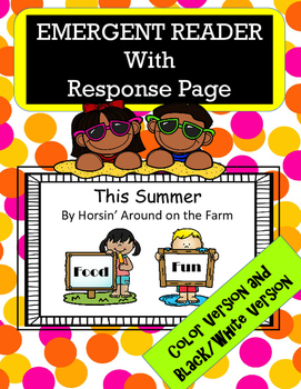 Summer Reader with Response Page