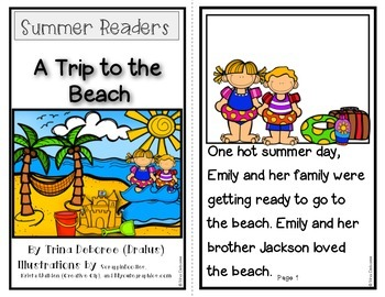 Summer Readers: A Trip to the Beach! {Transitional Reader}